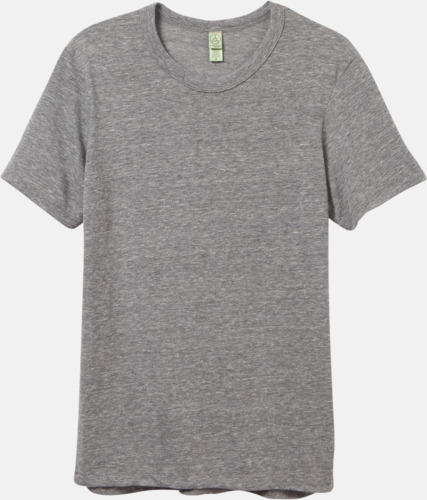 Eco Grey Återvunnet & eko material t-shirts med reklamtryck
