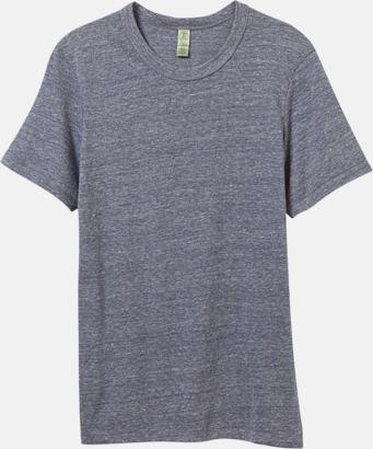 Eco Navy Återvunnet & eko material t-shirts med reklamtryck