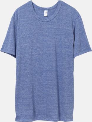 Eco Pacific Blue Återvunnet & eko material t-shirts med reklamtryck