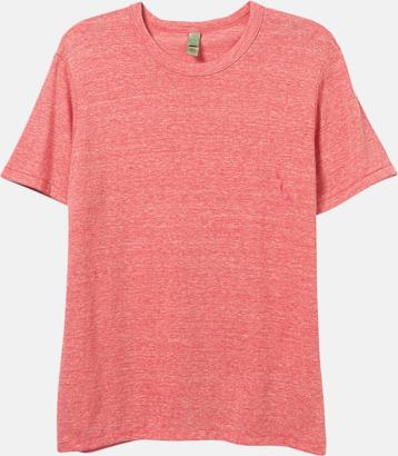 Eco Red Återvunnet & eko material t-shirts med reklamtryck