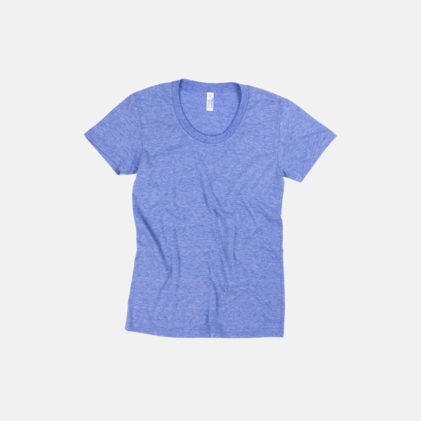 Athletic Blue (dam) T-shirts i unisex- & dammodell med reklamtryck