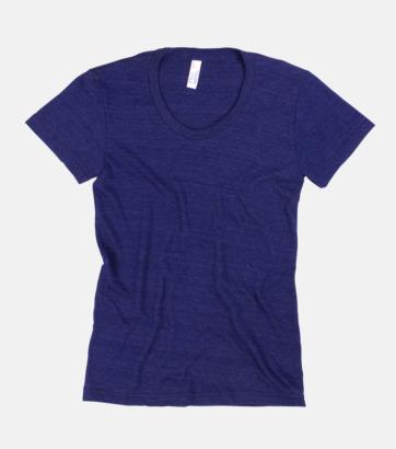Tri-Indigo (dam) T-shirts i unisex- & dammodell med reklamtryck