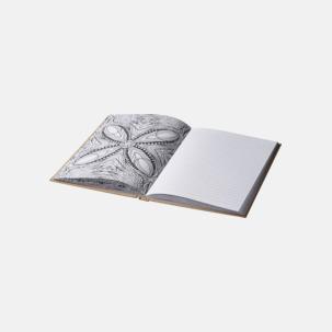 Antecknings- & färgläggningsböcker med reklamtryck