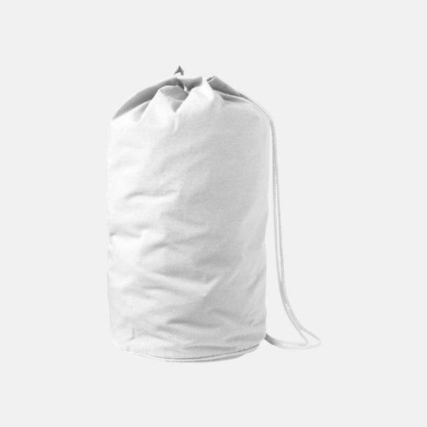 Enkla seglarväskor i bomull med reklamtryck