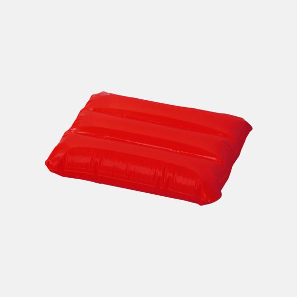Röd Strandkuddar med reklamtryck