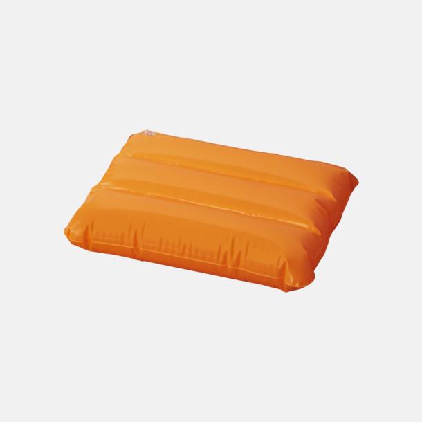 Orange Strandkuddar med reklamtryck
