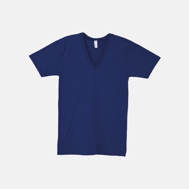 Lapis Unisex v-neck t-shirts med reklamtryck