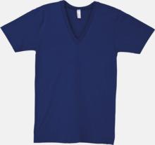 Unisex v-neck t-shirts med reklamtryck