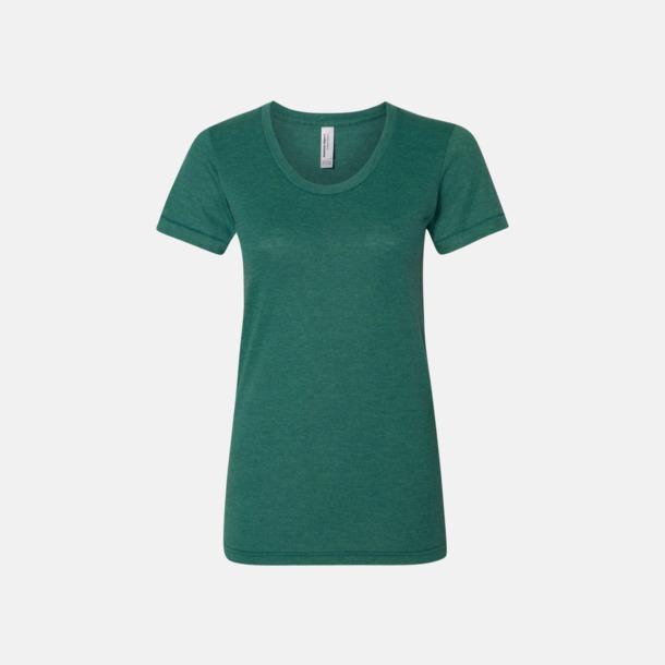 Tri-Evergreen (dam) T-shirts i unisex- & dammodell med reklamtryck