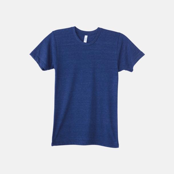 Tri-Indigo (unisex) T-shirts i unisex- & dammodell med reklamtryck