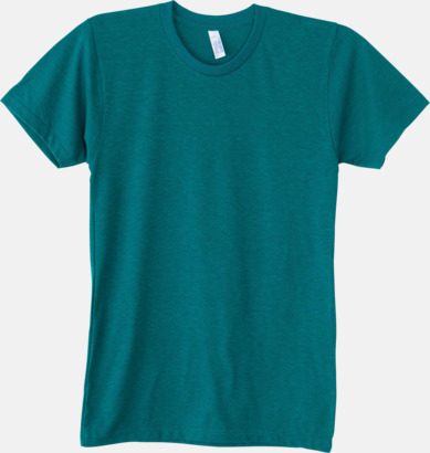 Tri-Evergreen (unisex) T-shirts i unisex- & dammodell med reklamtryck