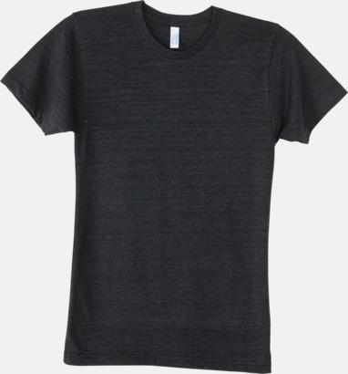 Tri-Black (unisex) T-shirts i unisex- & dammodell med reklamtryck