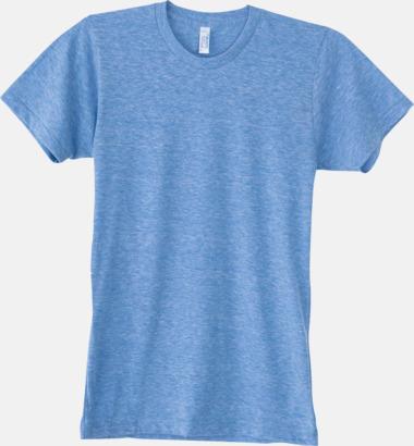 Athletic Blue (unisex) T-shirts i unisex- & dammodell med reklamtryck