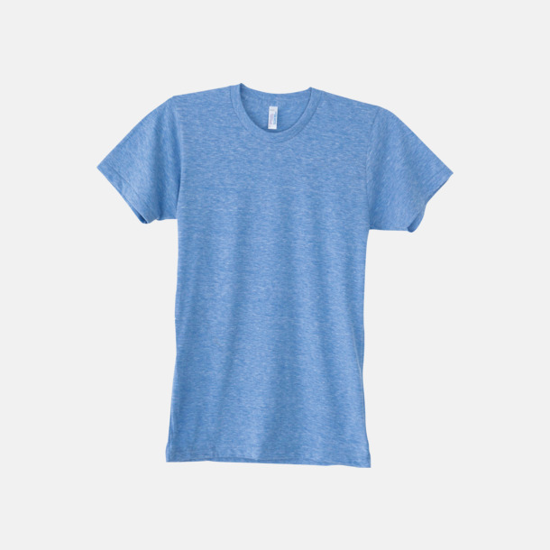 Athletic Blue (unisex) T-shirts i unisex- & dammodell med reklamtryck