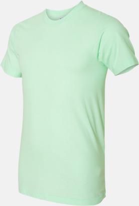Lime (unisex) Unisex & dam t-shirts med reklamtryck