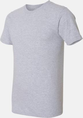 Heather Grey (unisex) Unisex & dam t-shirts med reklamtryck