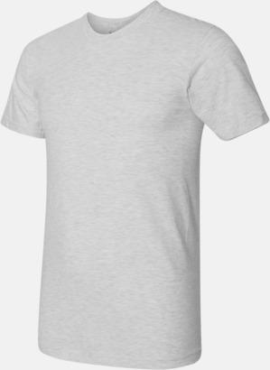 Ash Grey (unisex) Unisex & dam t-shirts med reklamtryck
