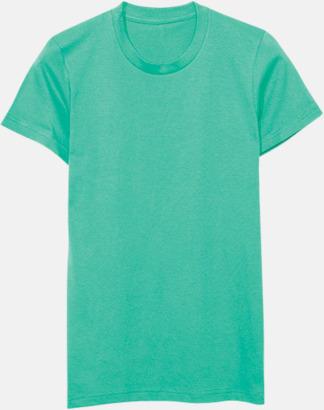 Turkos (dam) Unisex & dam t-shirts med reklamtryck