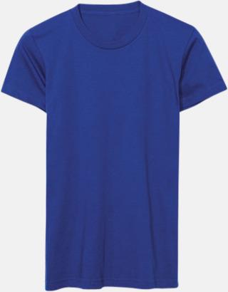 Royal Blue (dam) Unisex & dam t-shirts med reklamtryck