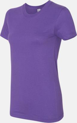 Lila (dam) Unisex & dam t-shirts med reklamtryck