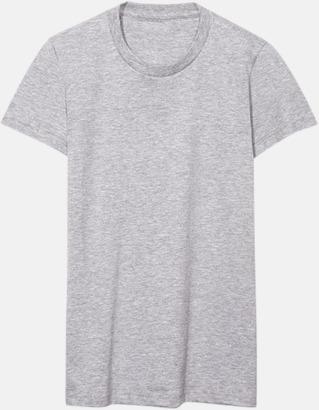 Heather Grey (dam) Unisex & dam t-shirts med reklamtryck