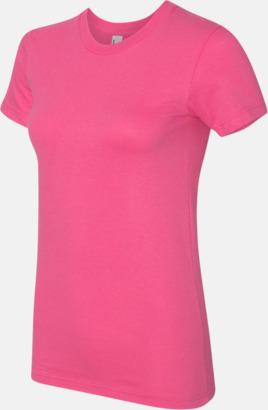 Fuchsia (dam) Unisex & dam t-shirts med reklamtryck