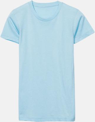 Aqua (dam) Unisex & dam t-shirts med reklamtryck