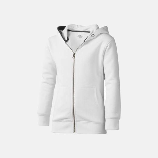 Vit (barn) Fina hoodies för herr, dam & barn - med reklamtryck
