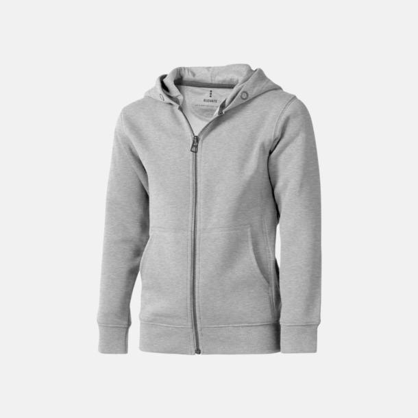 Grey Melange (barn) Fina hoodies för herr, dam & barn - med reklamtryck