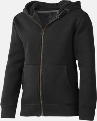 Svart (barn) Fina hoodies för herr, dam & barn - med reklamtryck
