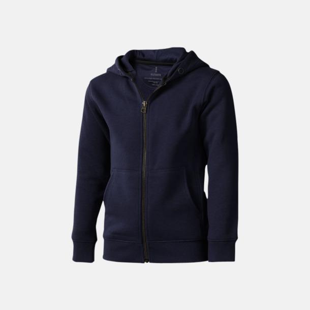 Marinblå (barn) Fina hoodies för herr, dam & barn - med reklamtryck