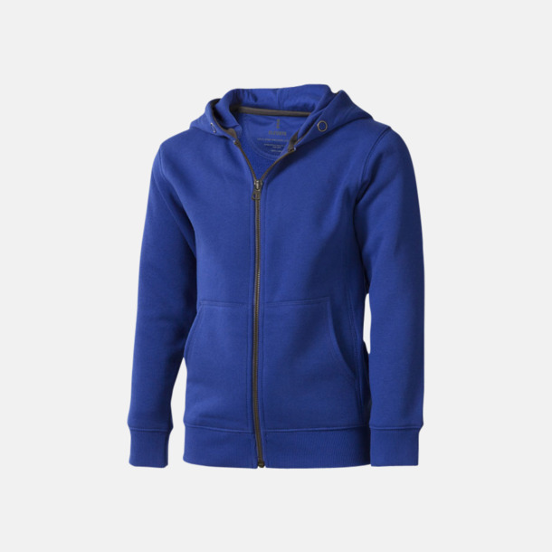 Blå (barn) Fina hoodies för herr, dam & barn - med reklamtryck
