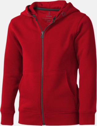 Röd (barn) Fina hoodies för herr, dam & barn - med reklamtryck