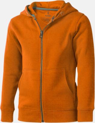 Orange (barn) Fina hoodies för herr, dam & barn - med reklamtryck