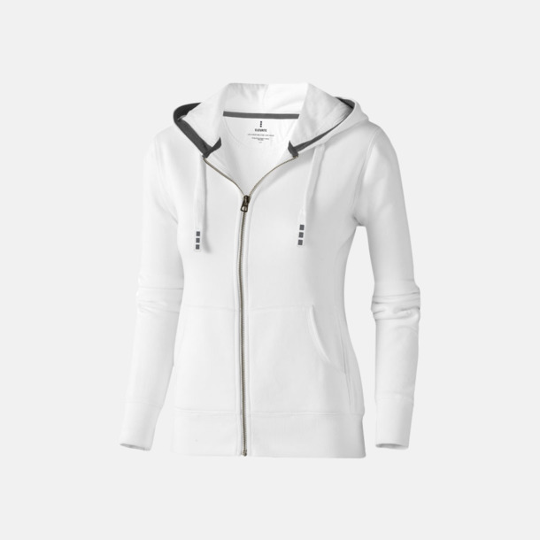 Vit (dam) Fina hoodies för herr, dam & barn - med reklamtryck