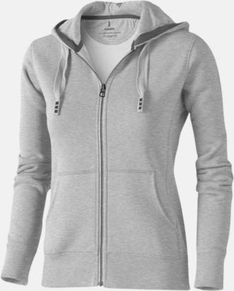 Grey Melange (dam) Fina hoodies för herr, dam & barn - med reklamtryck