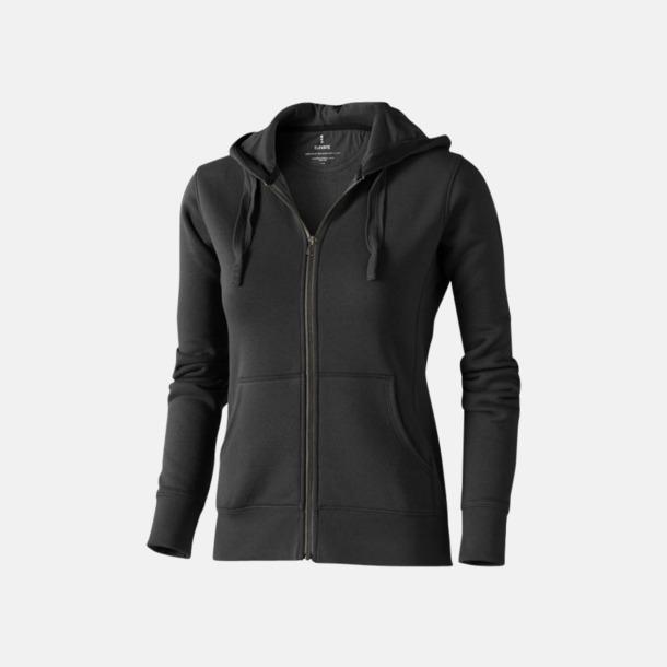 Anthracite (dam) Fina hoodies för herr, dam & barn - med reklamtryck