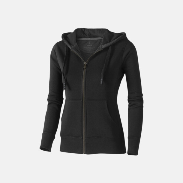 Svart (dam) Fina hoodies för herr, dam & barn - med reklamtryck