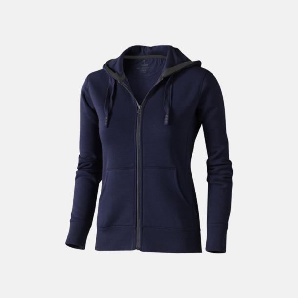 Marinblå (dam) Fina hoodies för herr, dam & barn - med reklamtryck