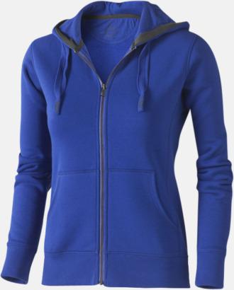 Blå (dam) Fina hoodies för herr, dam & barn - med reklamtryck