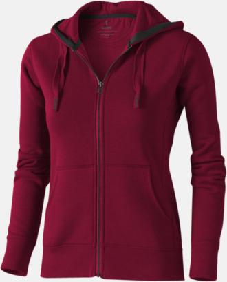 Burgundy (dam) Fina hoodies för herr, dam & barn - med reklamtryck