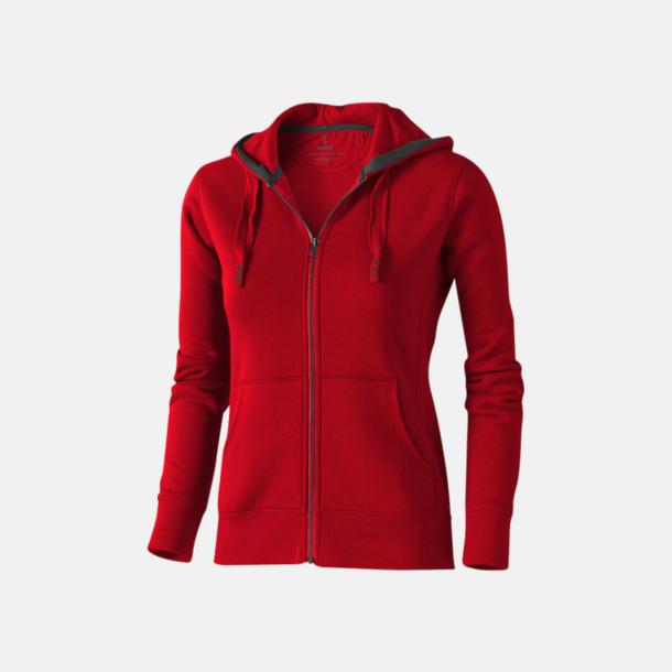 Röd (dam) Fina hoodies för herr, dam & barn - med reklamtryck