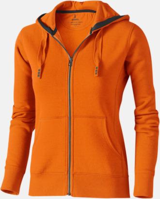 Orange (dam) Fina hoodies för herr, dam & barn - med reklamtryck