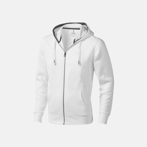 Vit (herr) Fina hoodies för herr, dam & barn - med reklamtryck
