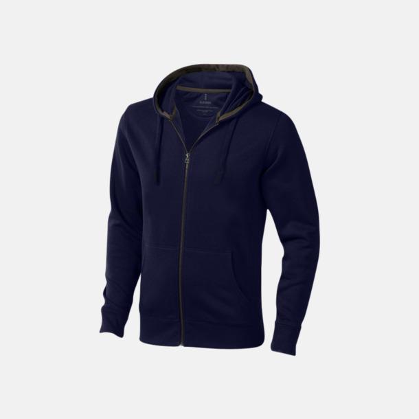 Marinblå (herr) Fina hoodies för herr, dam & barn - med reklamtryck