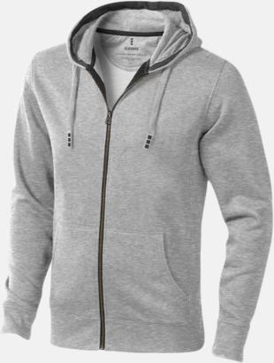 Grey Melange (herr) Fina hoodies för herr, dam & barn - med reklamtryck