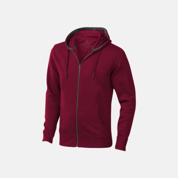 Burgundy (herr) Fina hoodies för herr, dam & barn - med reklamtryck
