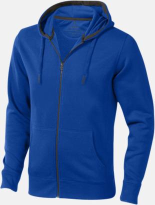 Blå (herr) Fina hoodies för herr, dam & barn - med reklamtryck