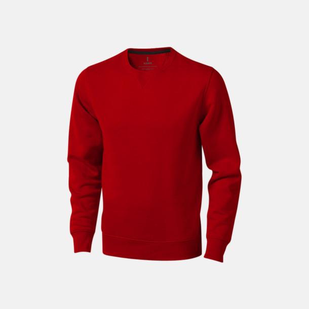 Röd Tröjor med många tryckmöjligheter med egen logo