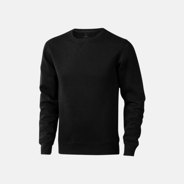 Svart Tröjor med många tryckmöjligheter med egen logo